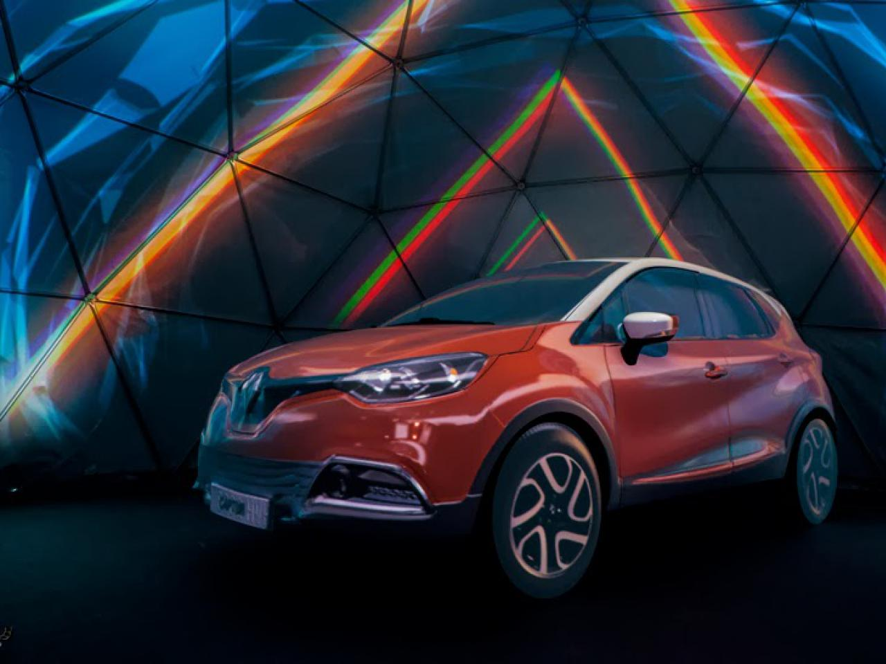 Mapping Renault Captur