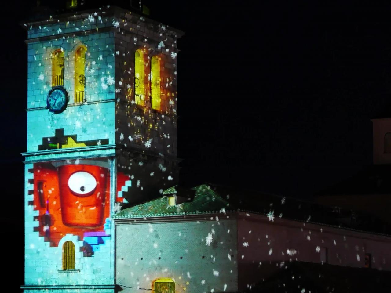 Mapping Torrejón Mágicas Navidades 2018 - Magic Christmas Torrejon 2018